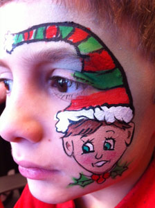 Face Painting Elf Art