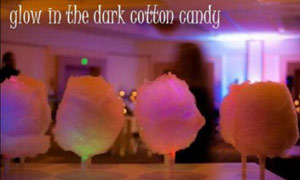Glow-in-the-Dark Cotton Candy