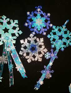 Snowflake Party Craft